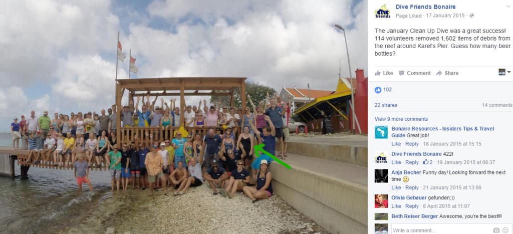 Bonaire Clean Up