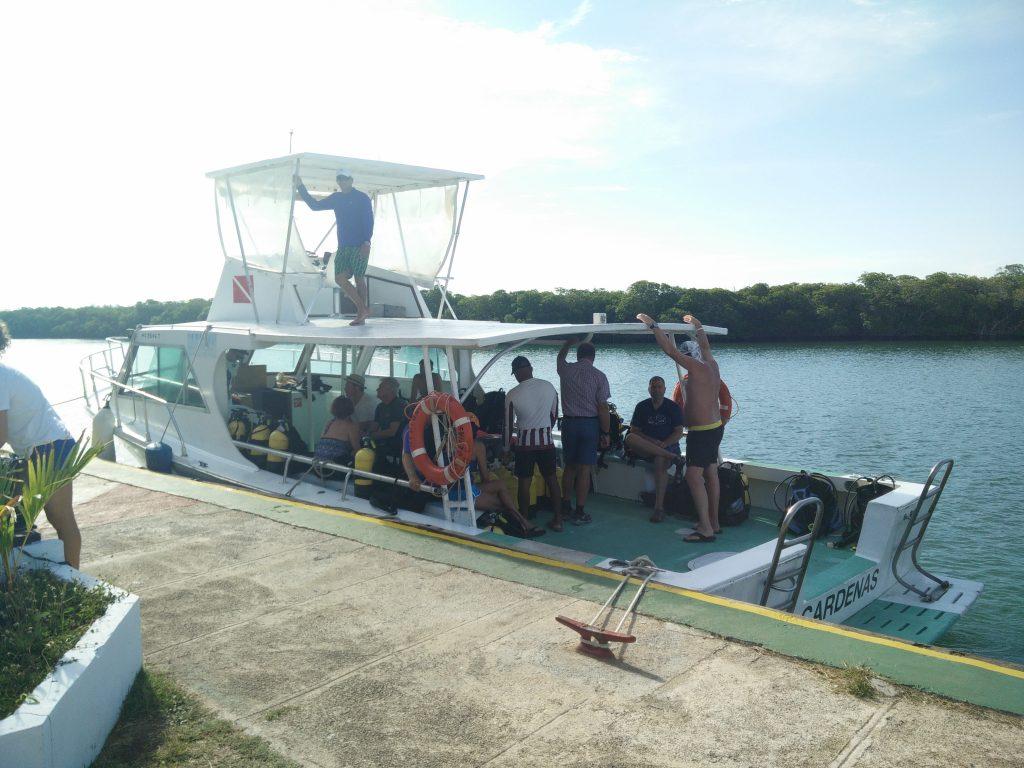 Marlin Dive Boat
